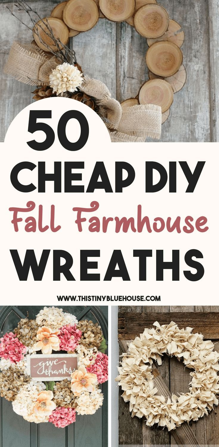 Glam up your house this fall with one of these gorgeous best cheap fall wreath i...