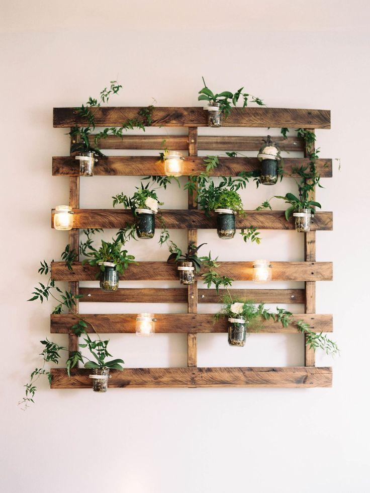 Stylish wall planters that you can buy or make yourself #he ...