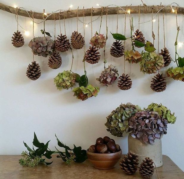 Legend 17 Best Tree Branch Christmas Decorations #basteln #branch #deko #decoration