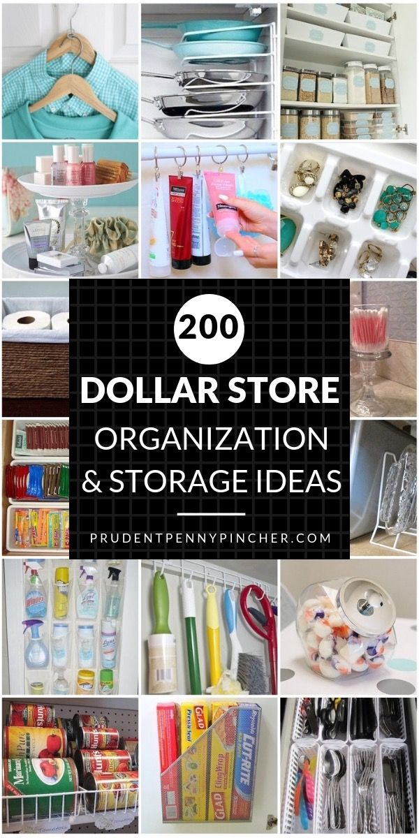 Spring cleaning just got a whole lot cheaper! Organize for less with these creat...