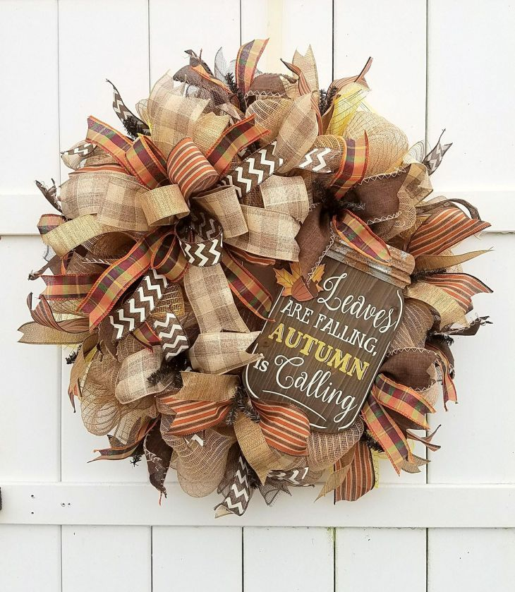 Best Ideas To Create Fall Wreaths Diy 115 Handy Inspirations 0678
