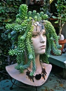 juicy mannequin | ... DIY garden projects with mannequins ... #garden projects #ma ...