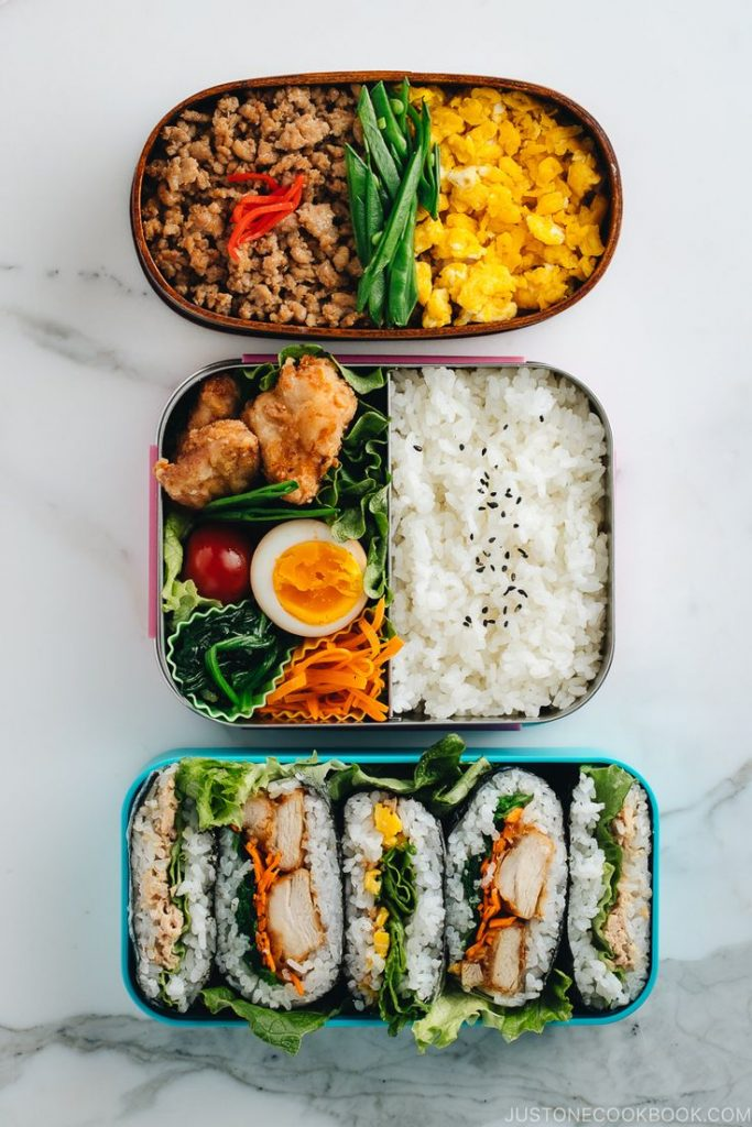 These 3 EASY and BUDGET-friendly MEAL PREP ideas for BENTO prove that eating HEA...