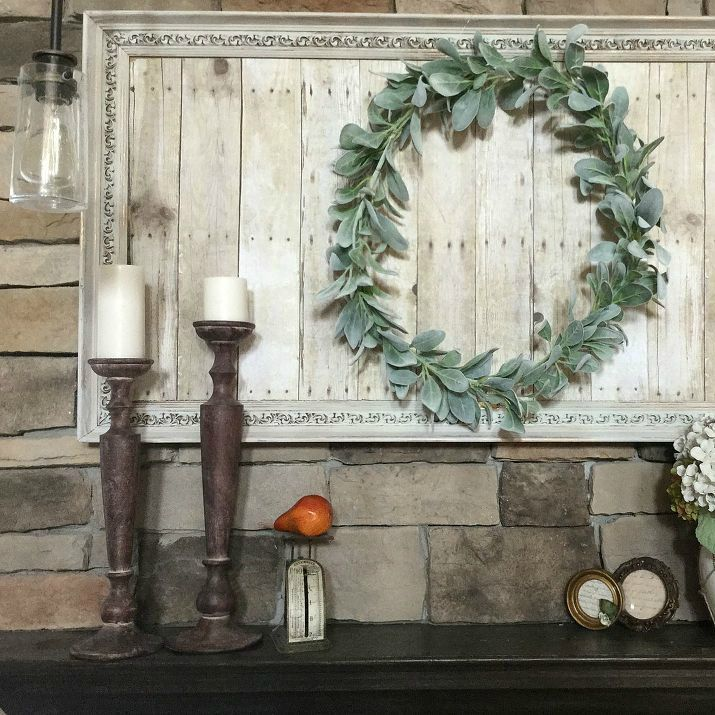 Creative ways to upcycle old paintings or picture frames from thrift store finds...