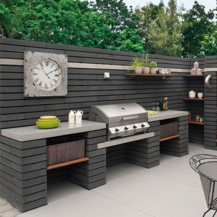 25+ Incredible Outdoor Kitchen Ideas - #Ideas #Incredible #Kitchen #Outdoor #shi...