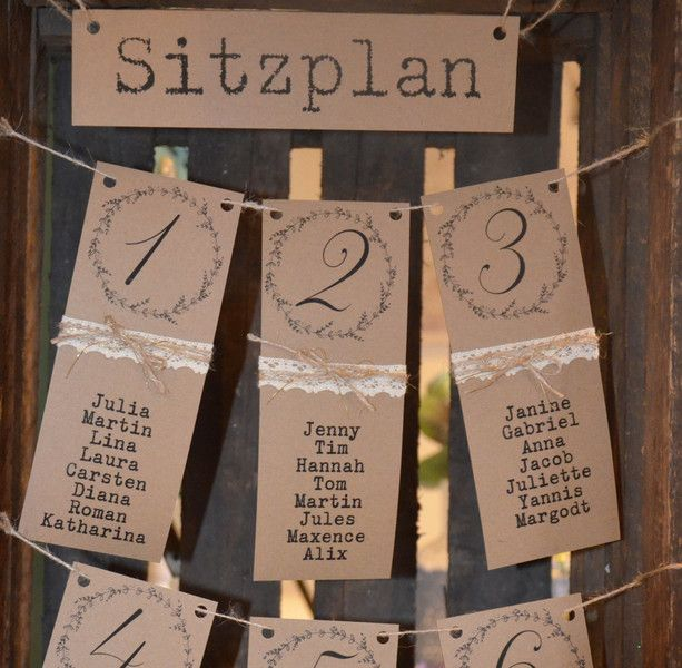Wedding Decor - Table Plan Table Arrangement Wedding Vintage Wedding - A Design ...