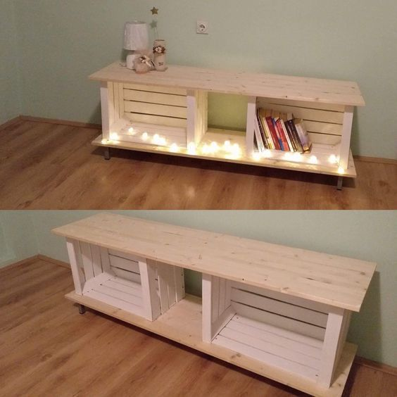 super 21+ DIY TV stand ideas for your weekend home project #deko #decoration ...