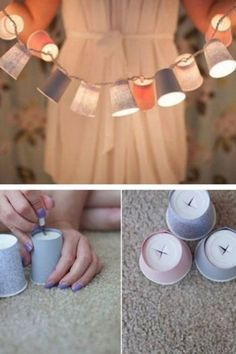Simple DIY decoration ideas with great effect - now available at: www.gofeminin.de / ...