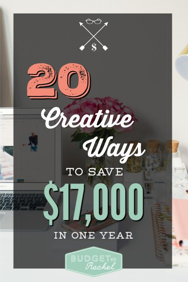 20 Creative ways to save money right now | looking for ways to save money you ha...