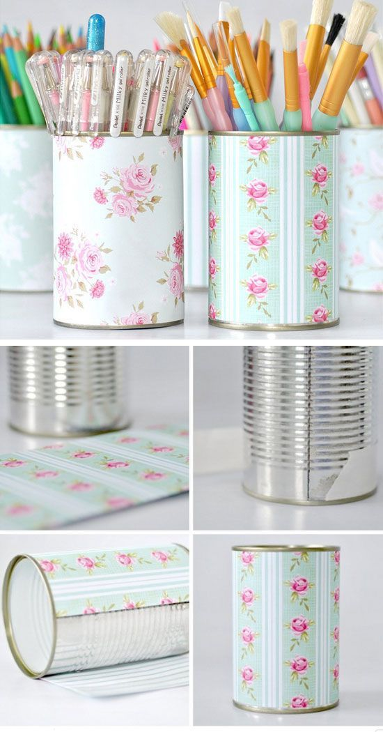 This is a fast DIY project that will help you to keep your desk ...