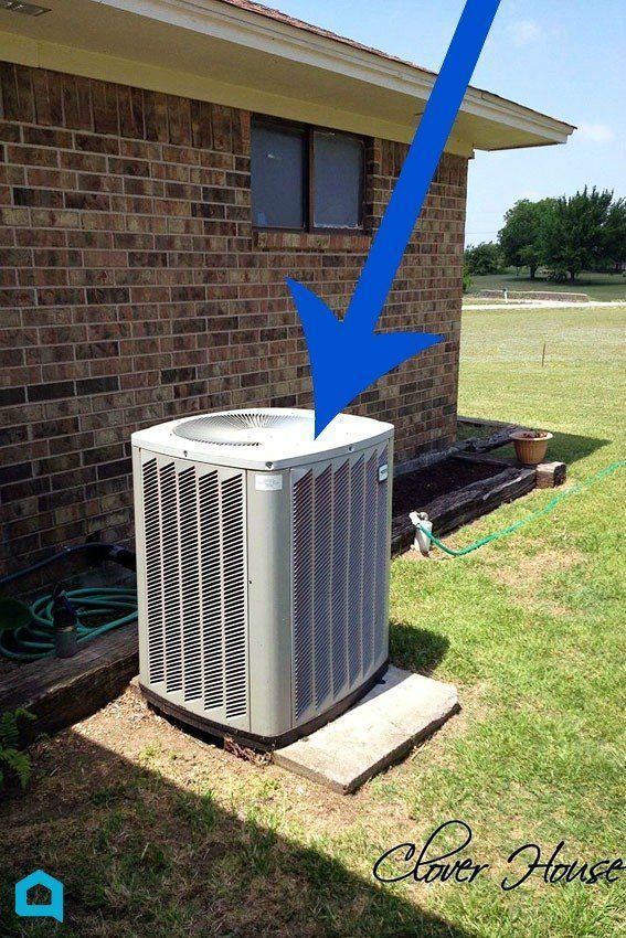 You won't believe she (he) did this on such a tight budget! Hide your air co...