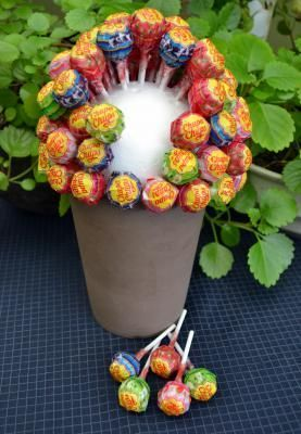 Is your communicant or spring festival a real sweet cup? With this lollipop or sn ...