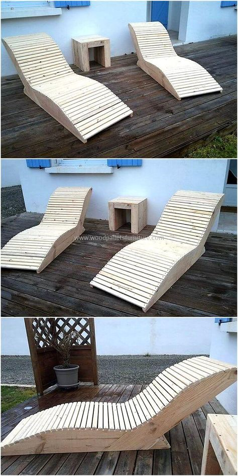 We never hesitate to share the ideas created by restyling the wood pallets becau...