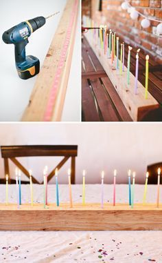 DIY: Birthday table decoration in the length you would like!