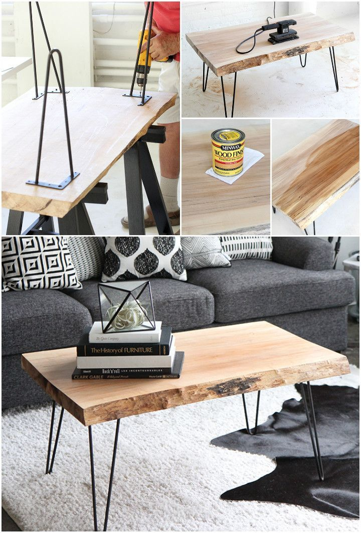 20 simple and free plans to build a DIY coffee table,