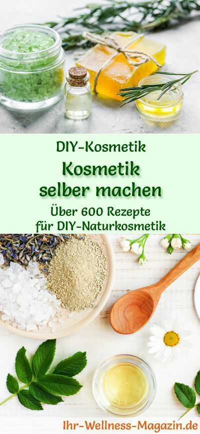 Recipes with which you can make cosmetics yourself: instructions for your own di ...
