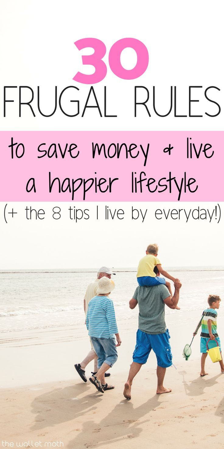 30 of my FAVORITE frugal living tips to help you save money and live a more frug...