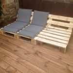 A wooden deck and the FIRST pallet project | living-blogger
