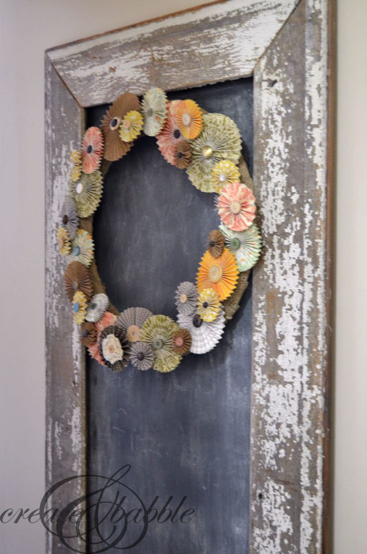 16 Easy DIY Fall Wreaths for Your Front Door - The Little Frugal House