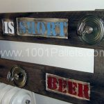 Hanger made of pallet in pallet wall pallet furniture  with Rack Pallets Hanger ...
