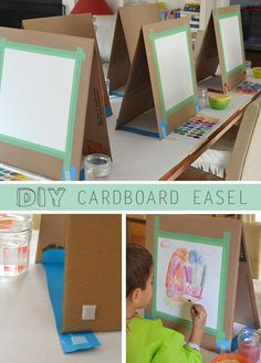 There are many ways to make a quick easel. I might have learned quite a few tric...