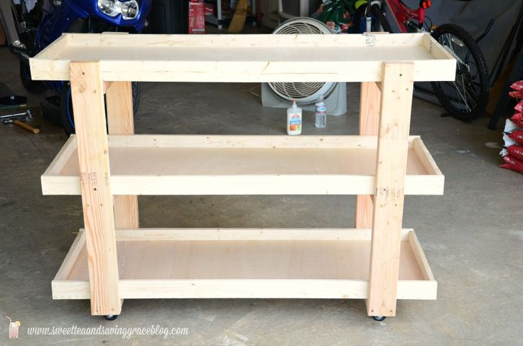 woodworking rolling storage cart dining room update, diy, painted furniture, rep...