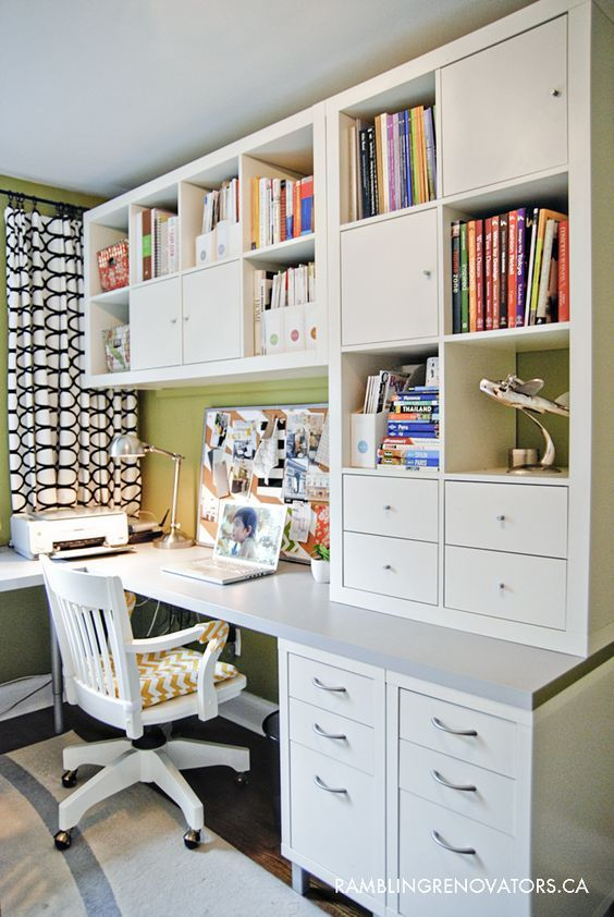 Desks can be so expensive, but these amazing DIY Ikea desk hacks will give you a...
