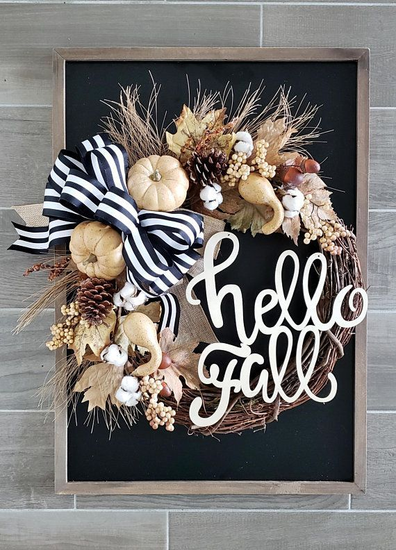 21 Must-Have Wreaths for a Perfect Fall Porch - little blonde mom