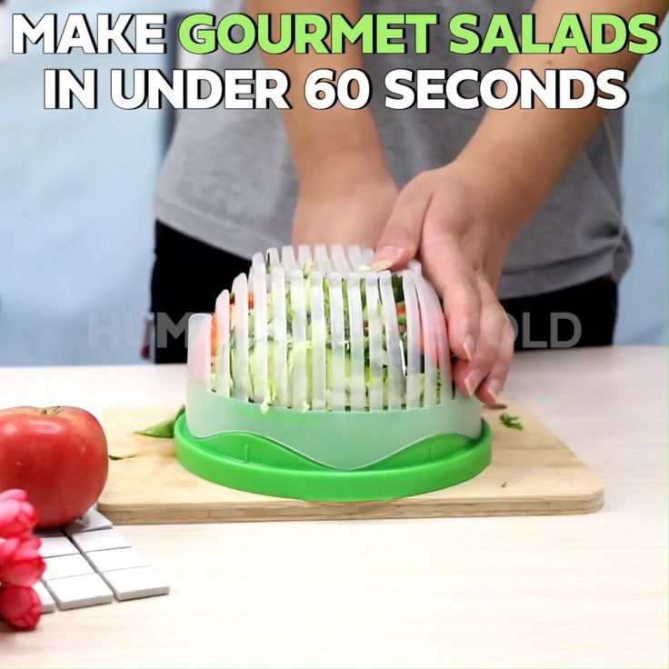 Spend Less Time Prepping Salads!
