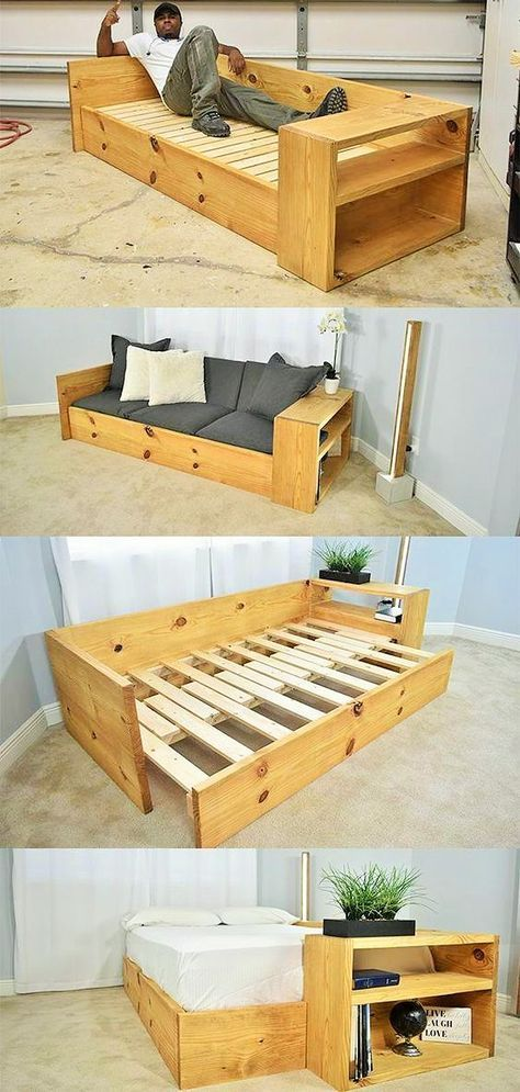 With the wooden pallet you can do everything where you want, you can ... #a ...