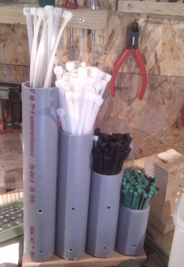 DIY PVC Pipe Storage Ideas #decoration # decoration2018 #decoration crafts #decoration