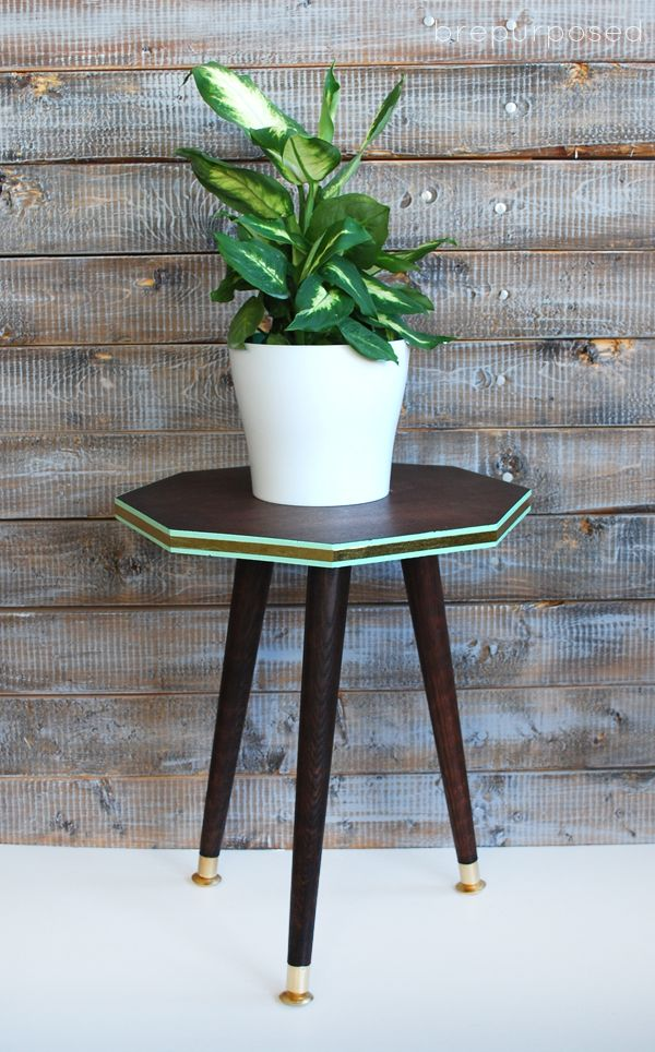DIY Mid Century Octagon Table | Hometalk