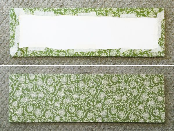 Hometalk :: DIY Fabric Panels for Your Bookshelves would also work to cover elec...