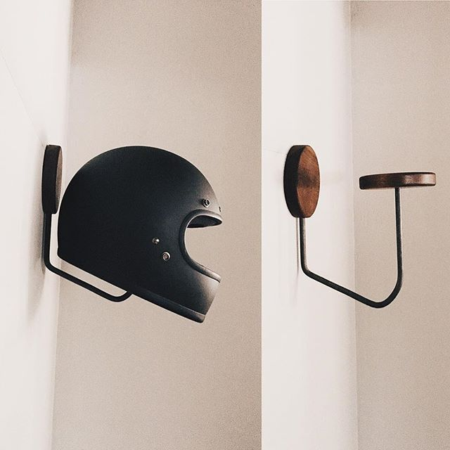 World's Greatest x Journey Patterson.co helmet rack coming soon. 100% made i...