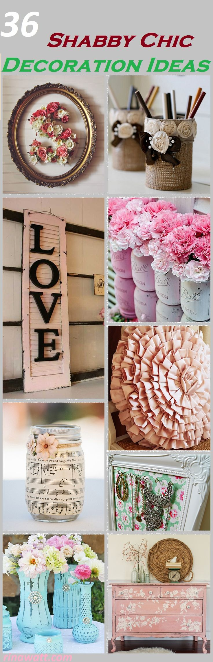 36 Amazing DIY Shabby Chic Decoration Ideas You Won't Want to Live Without