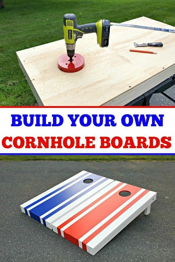 How to Make Your Own Cornhole Boards DIY | Hometalk