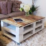 Shabby Chic Making Pallet Table DIY Furniture Living Room