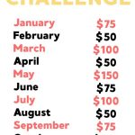 Use this free 2019 money-savings challenge to get you ready for an awesome 2019....