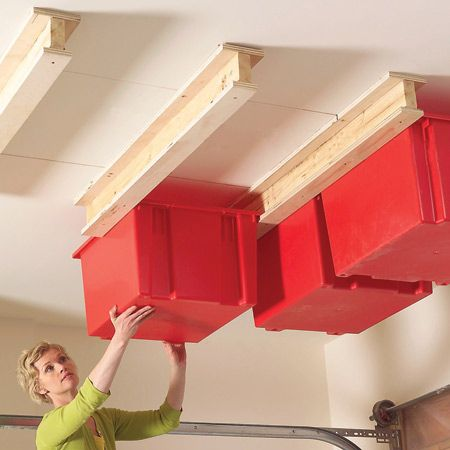 Organizing your storage bins in such a way that it is easy to pull out and will ...