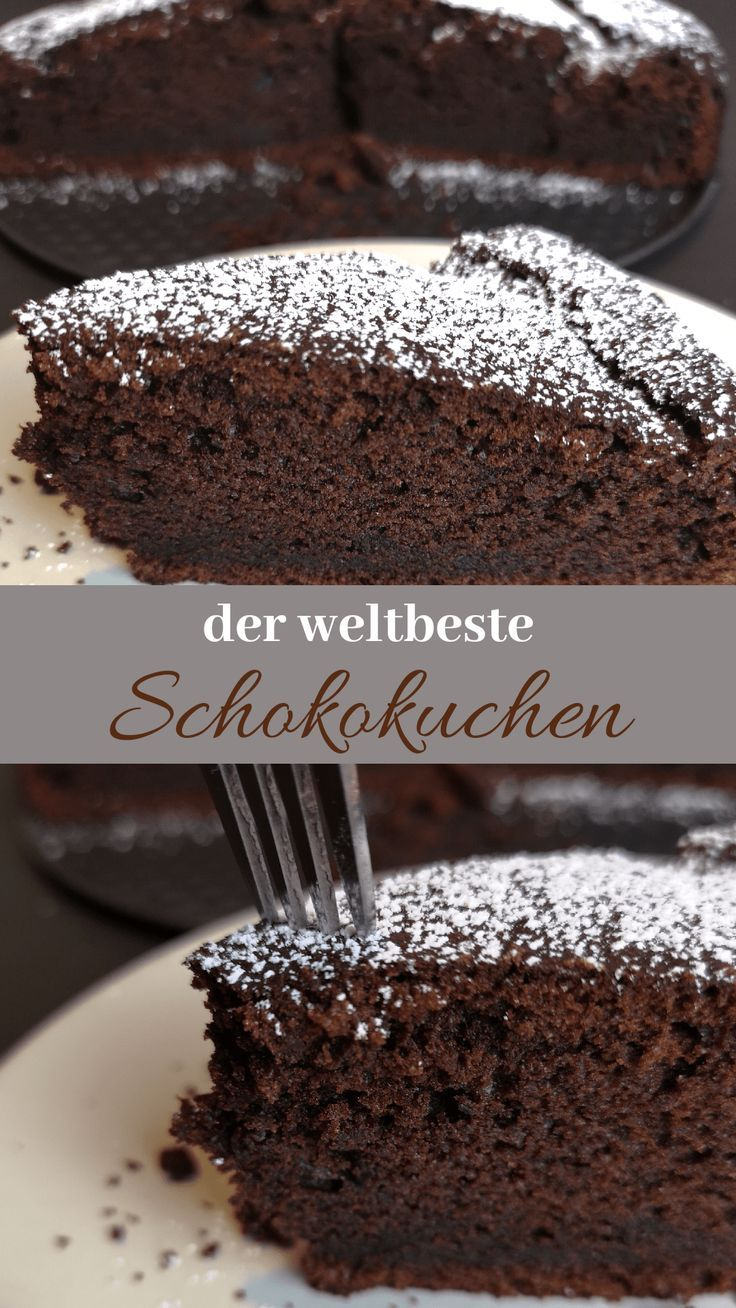 The juiciest chocolatiest chocolate cake of all time - my favorite recipe - ...