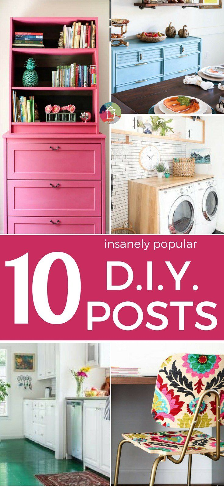 These top 10 most popular posts of 2017 include many DIY projects and more! Ther...