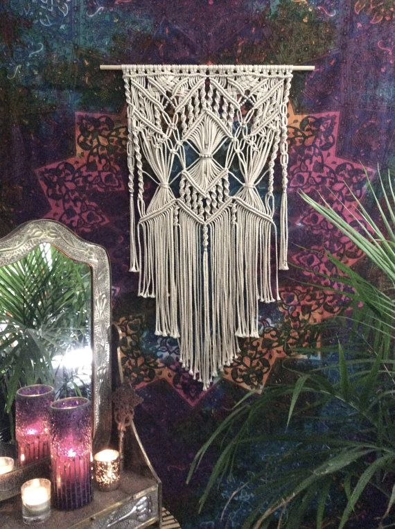 Macrame wall hanging, unique wall art, wall hangings, wall wallpaper, wall hanging