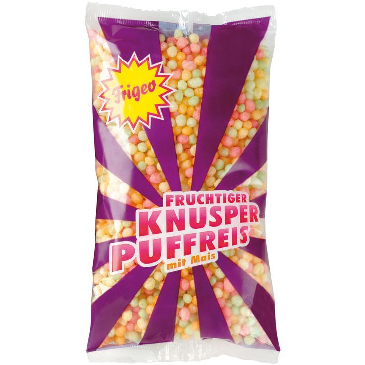 Frigeo Crunchy Puffed Rice 80g | Buy online at the World of Sweets Shop