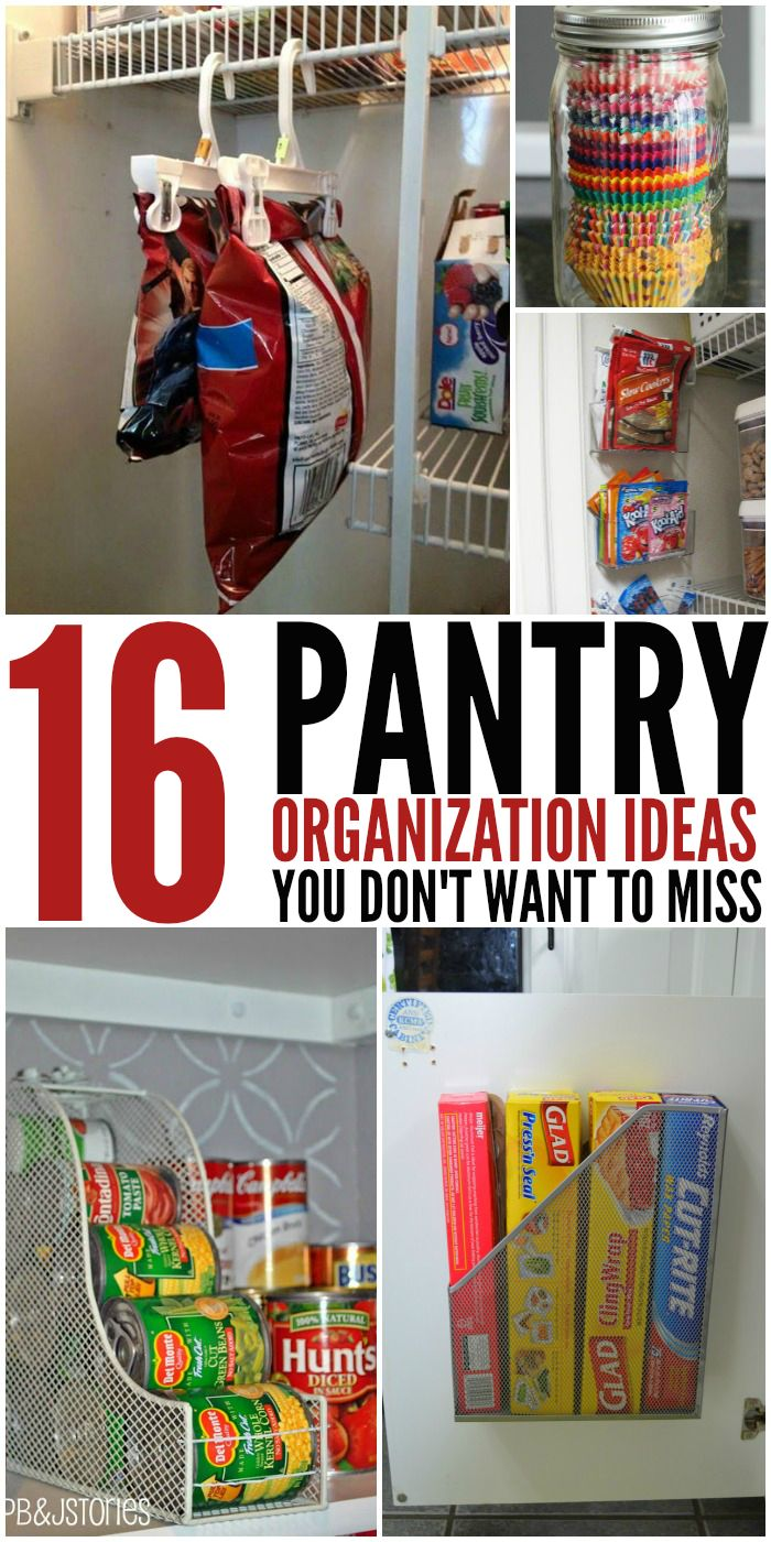 16 Pantry Organization Ideas You'll Wish You'd Thought Of - Never have a...