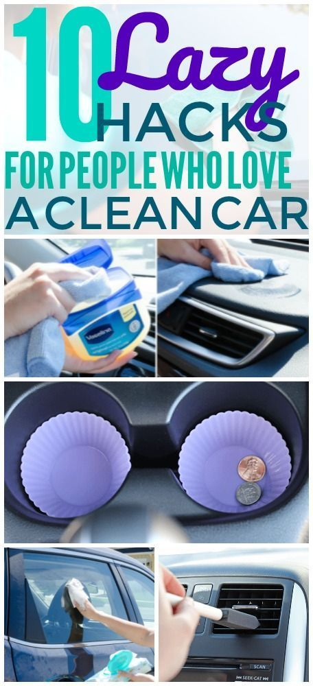 10 Cleaning Hacks That Will Really Keep Your Car Clutter Free- This Car ...