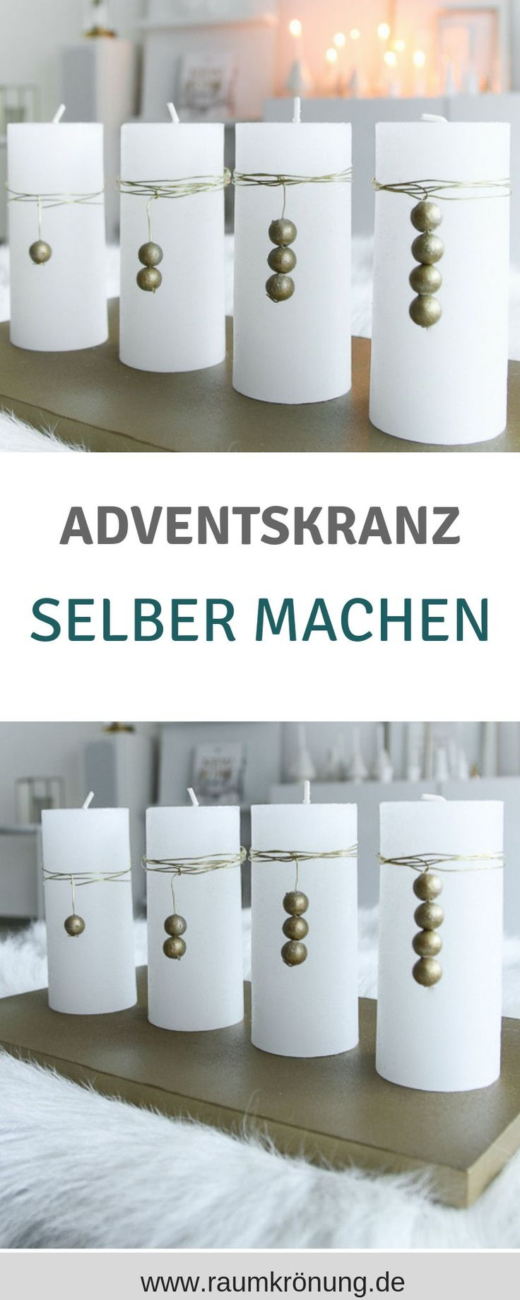 Advent wreath, Advent wreath Alternatives, adventskranz make yourself, adventskranz ...
