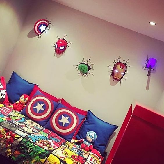 16 Avengers Inspired Home Deco Ideas For Real Geeks | If you like comic ...