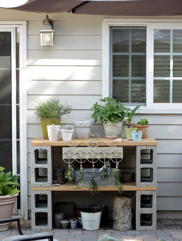 Cinder Block Furniture 8 Simple DIY Ideas Bob Vila #block #cinder #easy # #