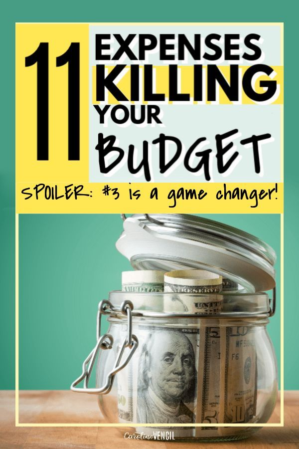11 expenses to stop wasting money on that are killing your budget. How to start ...