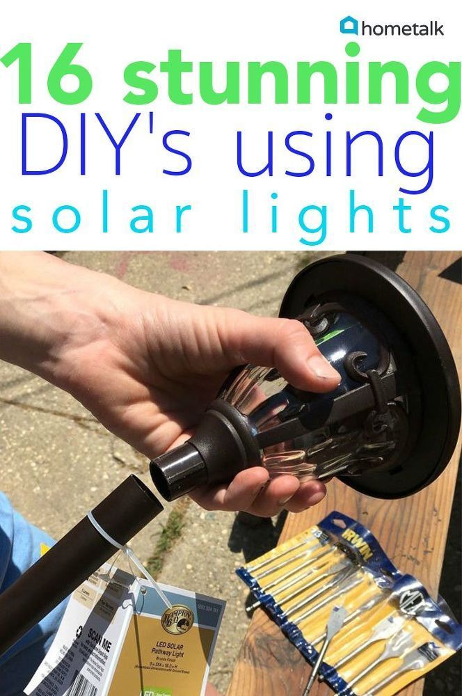 Brighten up your life with these wonderful solar lighting projects!  (sponsored ...